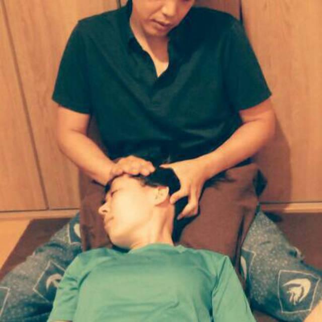 ヘッドマッサージ30分 head massage 30 minutes 2800円