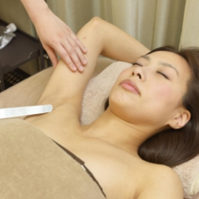 Pack to hair loss debut ♪ armpit hair removal ☆ 15 times together ☆ | Esthetic Ray bis Ginza | Last-minute booking service Popcorn