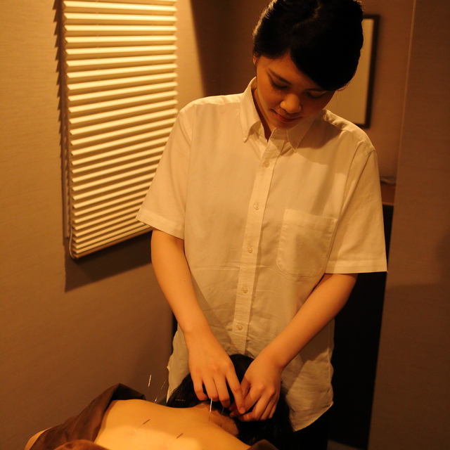 "Most Popular feels comfortable! Acupuncture and the meridian body massage 90 minutes course ""pair Reservation is ♪ from the telephone inquiry button"" 