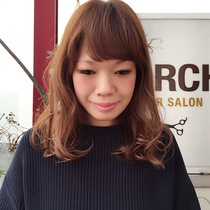 Cut + color | TORCH (torch) of private sense of beauty salon | Last-minute booking service Popcorn