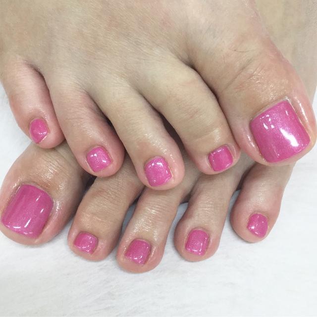 [您的新薩馬]足部凝膠指甲¥4000-課程 | 化妝品工作室香格里拉水平福岡 | Popcorn 當日 / 即時預約服務