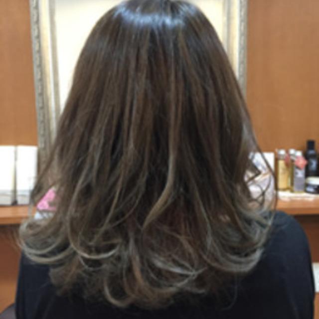[新規/SB込]似合わせカット+カラー+トリートメント | unsarto hair (アンサルトヘア) | 当日予約・直前予約 ポップコーン