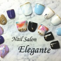 [新規・オフ無し]FOOTジェルやり放題 | Nail Salon Elegante(ネイル サロン エレガンテ) | 当日予約・直前予約 ポップコーン