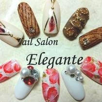 [新規・オフ無し]HANDジェルやり放題 | Nail Salon Elegante(ネイル サロン エレガンテ) | 当日予約・直前予約 ポップコーン