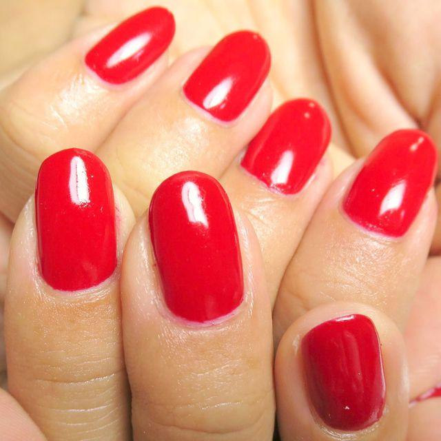 [新規・ケア込・オフなし]ジェルネイルワンカラー☆オフィスでも◎上品でシンプルに♪ | eyelash&nail GIZELE (ジゼル) | 当日予約・直前予約 ポップコーン