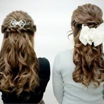[14時以降限定]デート、結婚式にも♪ナチュラル~ゴージャスまで◇ヘアセット◇ | Hair make Tiara(ヘアーメイクティアラ) | 当日予約・直前予約 ポップコーン