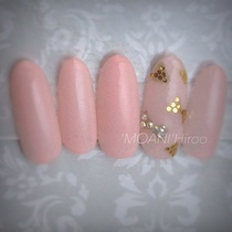 [Limited] simple elegance Point Art course | Nail salon 'MOANI' Hiroo Ebisu Shibuya store | Last-minute booking service Popcorn