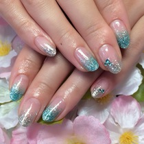 【No OFF】 Lame gradation 20 colors | JNA certification ★ nailsalon | Last-minute booking service Popcorn