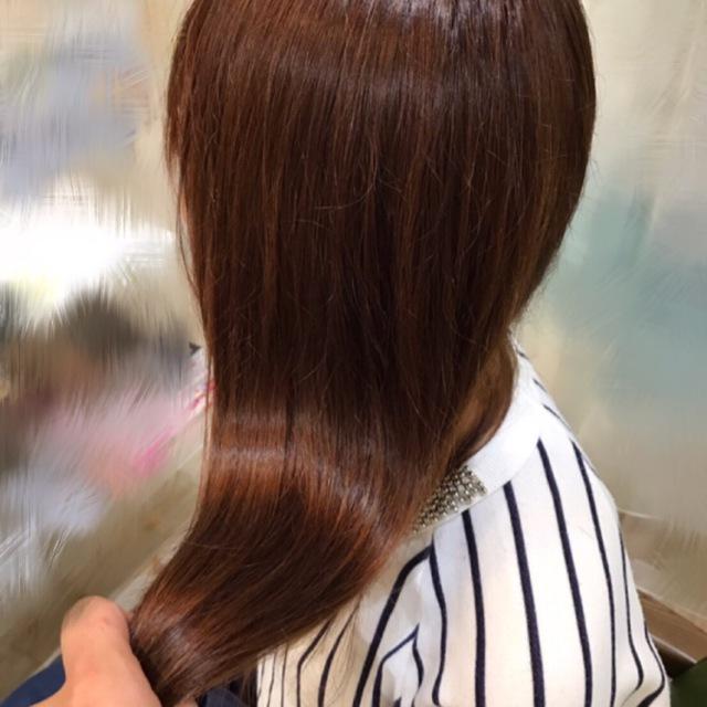 フルボ酸カラー+カット+ODトリートメント | 髪質改善サロン T-ties (ティータイズ) | 当日予約・直前予約 ポップコーン
