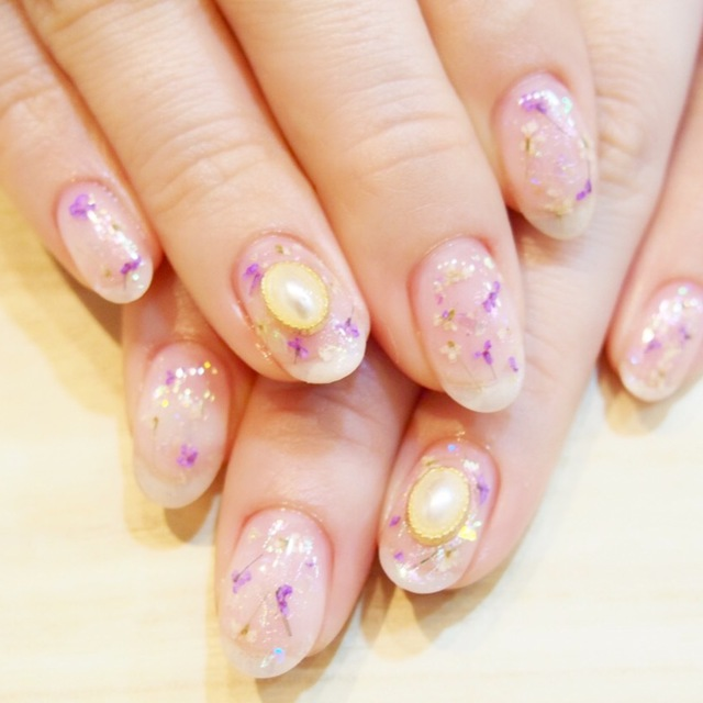 Most Popular! Art boasting skills ★ 14010 yen → 6980 yen ♪ Off ★ | Aina Nail | Last-minute booking service Popcorn