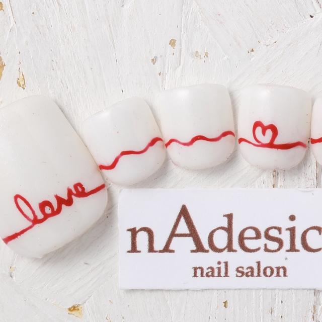 新規限定・オフ込フット☆話題のメタリックジェル! | nAdesico nail salon (なでしこネイルサロン) | 当日予約・直前予約 ポップコーン