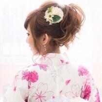[14時以降限定]花火大会前に♪浴衣&ヘアセット☆ | Hair make Tiara(ヘアーメイクティアラ) | 当日予約・直前予約 ポップコーン