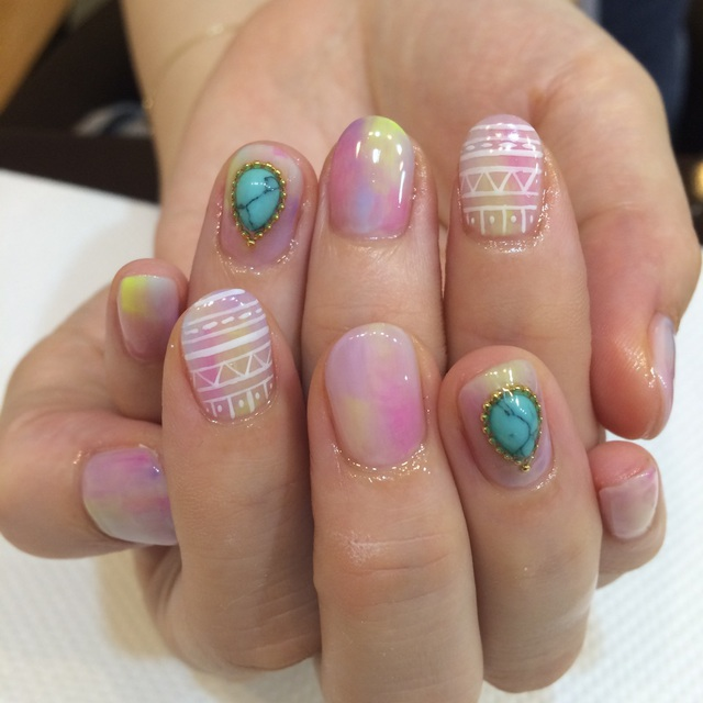 Technical boast! Most Popular ★ Art Course Usually 14040 yen → 6500 yen ★ No Off ★ | Aina Nail | Last-minute booking service Popcorn