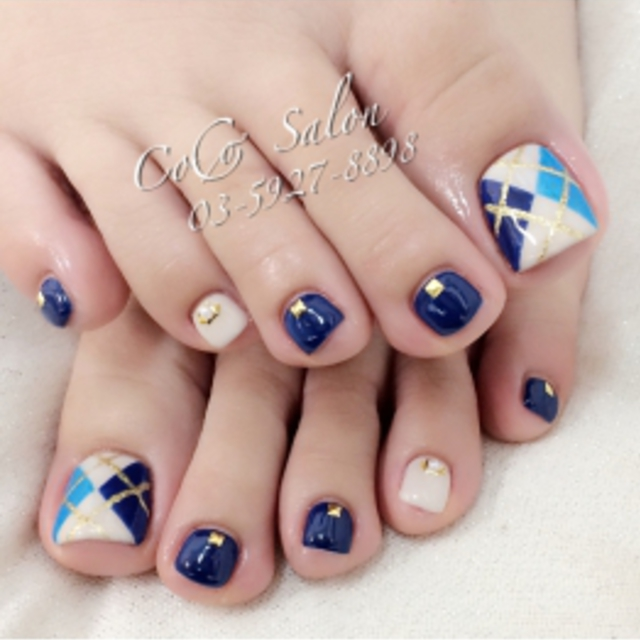 New-off Free] design bring welcome ☆ foot spear unlimited 90-minute course | CoCo Salon (Kokosaron) (Nail) | JR Ikebukuro Station north exit 1-minute walk | Last-minute booking service Popcorn