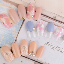 New-off Free] season of Art and many ♡ choose design course ♪ | JuicyGold (Juicy Gold) | nail | Last-minute booking service Popcorn