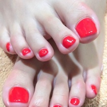 【Initial / off】 Foot A. One color or Lame glade gel | Eye (eye) Nail Ikebukuro | Last-minute booking service Popcorn