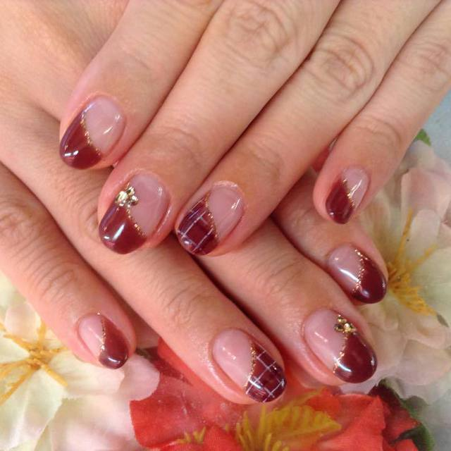 Choose from 300 colors ☆ Gel French | nail salon LUCE (Nail Salon Luce) | Last-minute booking service Popcorn