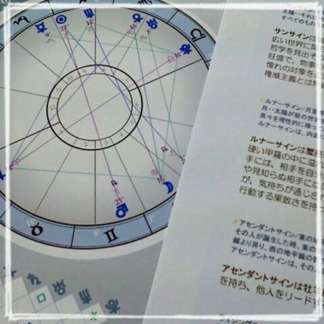 西洋占星術~ホロスコープ鑑定~