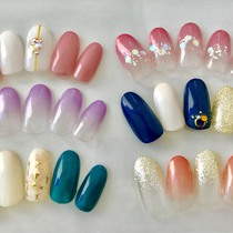 [First off free / color 100 kinds ♪ base choose ♪ ♪ with Stone Part straight-line simple nail ☆ Keakomi ♪ | cher eyelash (Sierre eyelash) -nail- | Last-minute booking service Popcorn