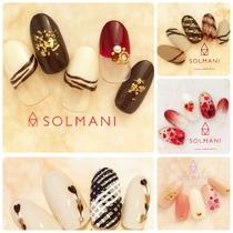5種から選べる♪バレンタインネイルプラン❤️ | SOLMANI(ソルマーニ) | 当日予約・直前予約 ポップコーン