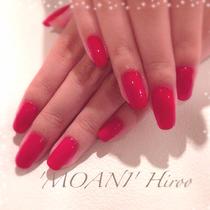 Nail Care & Color (manicure one color) | Nail salon 'MOANI' Hiroo Ebisu Shibuya store | Last-minute booking service Popcorn