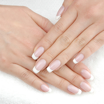 [Prime / off write / moisture with care] simple Gel course ☆ (French One color Glade) seats iPad standing !! | SLEEP NAiL (sleep nail) | Last-minute booking service Popcorn