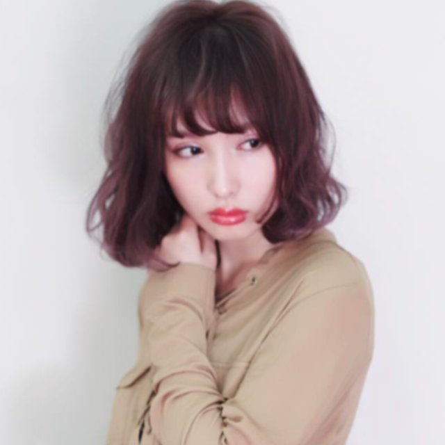 [New] bangs cut + color (short) + 4STEP Treatment | coo et fuu (Kuefu) | Last-minute booking service Popcorn