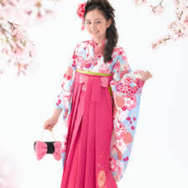 小学生卒業式 袴着付+ヘアセット