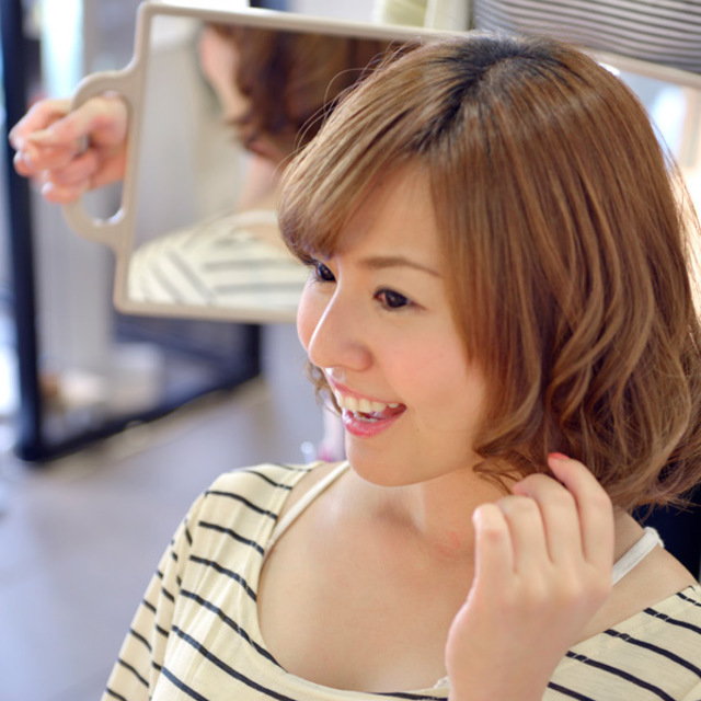 [New] ♪ design cut to the ideal of style | AXIS HAIR & MAKE (Axis hair and make-up) | Last-minute booking service Popcorn