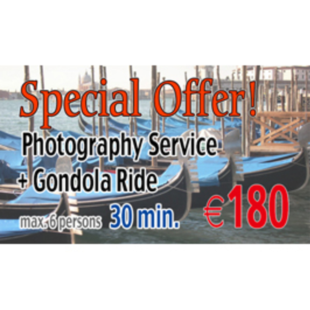 Special Offer Photo & Gondola +