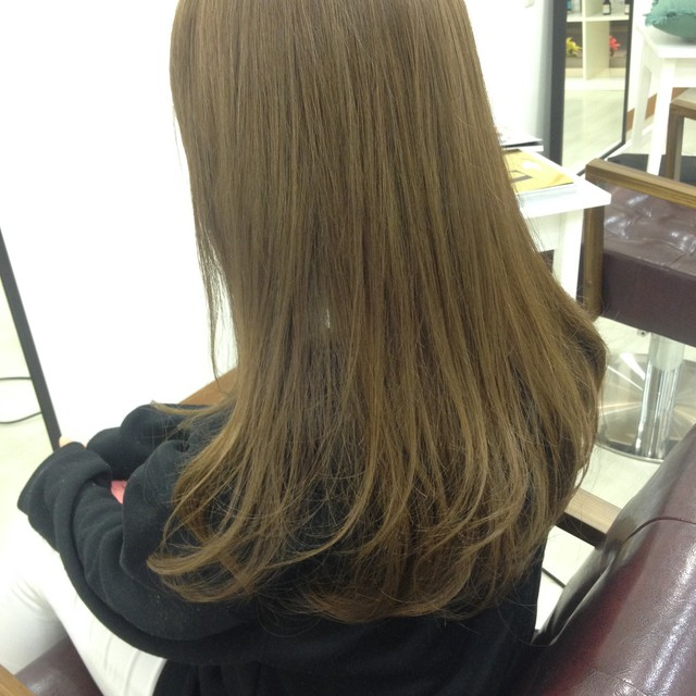 Cut + hair straightening | hair design mou (Hair Design mu) | Last-minute booking service Popcorn