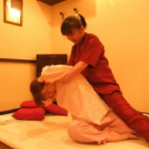 [Limited] Traditional Thai massage 60 minutes course ☆ ♪ with tea service | Traditional Thai massage Nuwaboran Chai (Chai) | Last-minute booking service Popcorn