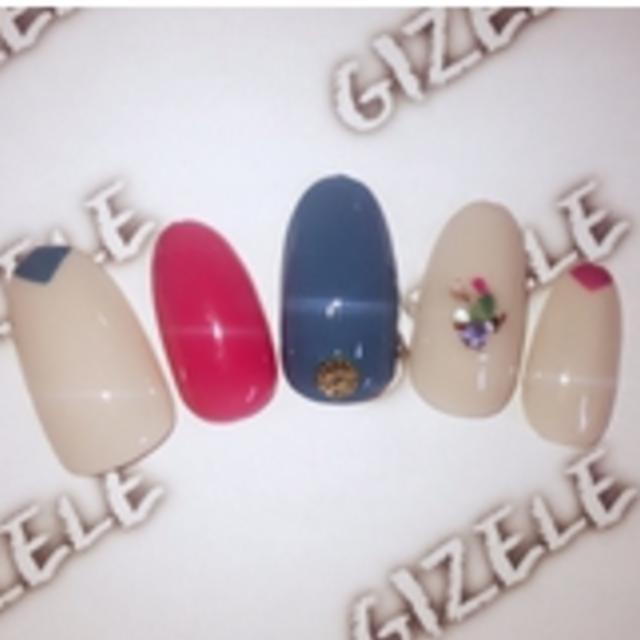 [今月限定!!オフ込]トレンドカラーで差をつける☆冬デザインネイル♪ | eyelash&nail GIZELE (ジゼル) | 当日予約・直前予約 ポップコーン