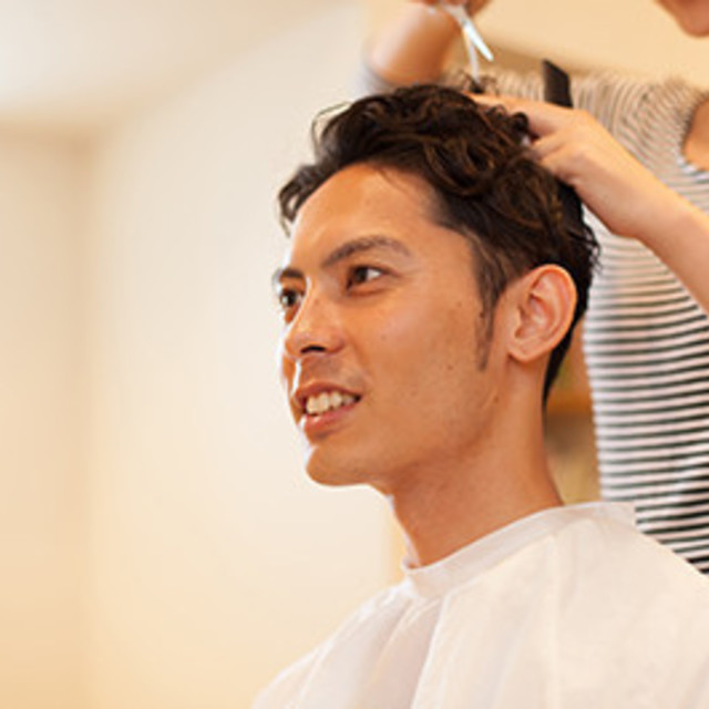 New-man limited] AGA specialist hospital alliance ◆ volume cut + scalp cleansing + scalp care | Grand.F (Grand F) Roppongi | Last-minute booking service Popcorn