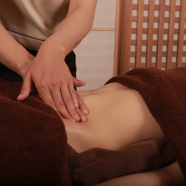 腸活デトックスリフレ(60分) intestinal detox and reflexology (60min)