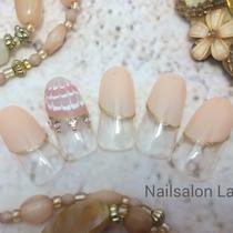 [新規・オフ込]デザインフレンチネイル♡オフィスOK | Nail&Relax Laguna (ネイル&リラックス ラグーナ)-Nail- | 当日予約・直前予約 ポップコーン