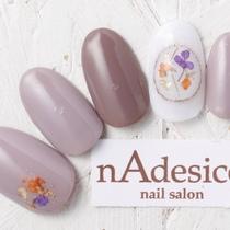 新規・オフ込み☆限定!春先取りドライフラワー! | nAdesico nail salon (なでしこネイルサロン) | 当日予約・直前予約 ポップコーン