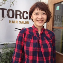 New Limited] Cut + Color | TORCH (torch) of private sense of beauty salon | Last-minute booking service Popcorn