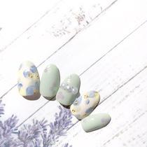 [新規]オフ込み Spring Design | Life Nail(ライフネイル) | 当日予約・直前予約 ポップコーン