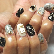 [再来・オフ無し]HANDやり放題 | Nail Salon Elegante(ネイル サロン エレガンテ) | 当日予約・直前予約 ポップコーン