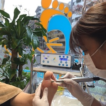 ♪ to those concerned about the octopus foot reflexology (foot massage) + Takokea + paraffin pack | Doctor Nail nail revolution Fukuoka zelkova dori | Last-minute booking service Popcorn