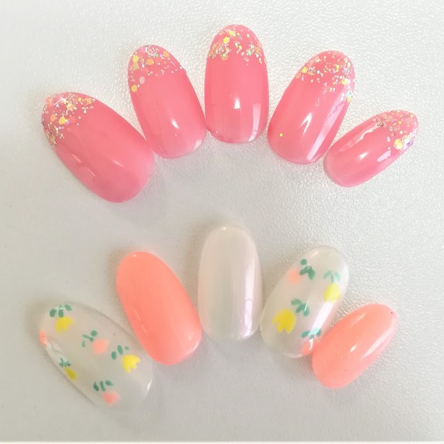 [Prime / off included] B course ♪ to choose from 180 kinds of colors and 35 types of design | Nail Salon kuku (Kuku) | Last-minute booking service Popcorn