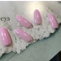 [Reincarnation / No Off choose ☆ one-color color Gradation, Ramegurade ♪ simple love ♡ | Nail salon Keys (Keys) | Last-minute booking service Popcorn