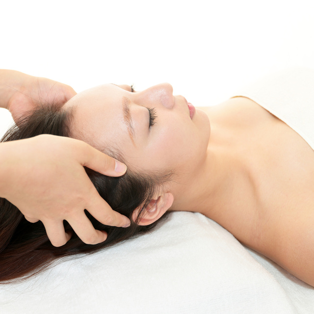Stiff neck repel! Aroma lymph & Mesei head [70 minutes] usually 13,608 yen ⇒ (49% off) | Linn Ebisu -natural healing salon- | Last-minute booking service Popcorn