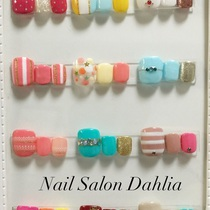 [New] off there foot gel 6980 yen | Nail Salon Dahlia (Dahlia) | Last-minute booking service Popcorn