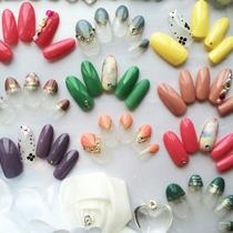 【アート込み】シンプルデザインアート オフ無し | Nail Salon Basic(ベーシック)町田店 | 当日予約・直前予約 ポップコーン
