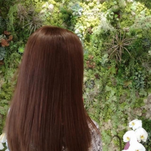 [新規]低還元ノンアルカリ美髪縮毛矯正+ハホニコトリートメント+ANellスパ(20分)¥31660→¥10800 | ANell(エネル) | 当日予約・直前予約 ポップコーン