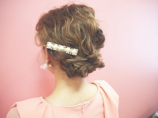 [Wedding after-party party] Hair & hair set