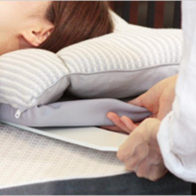 オーダーメイド枕の調整