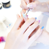 None Off ten Clear Gel | Nail Salon Princess Road | Last-minute booking service Popcorn
